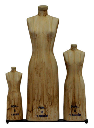 Professional Mini Scale Ladies Dress Form 3pcs/Set MM-615AT
