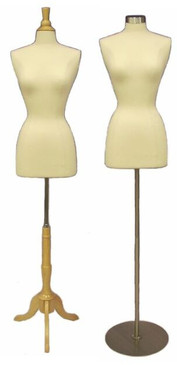 Cream Female Body Form size 2/4 with Base MM-JF2/4