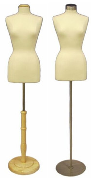 Cream Female Body Form size 10/12 with Base MM-JF10/12