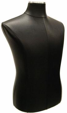 Black PU Leather Male Body Form With Base MM JF33M01PU BK