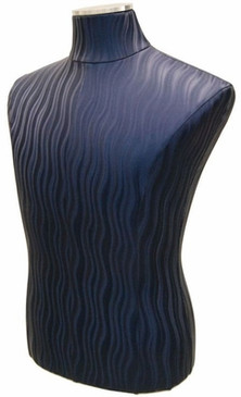 Blue Wave Male Body Form with Base MM-JF33M01PU-BLU