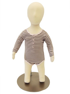 6 Months Old Poseable Baby Mannequin with Flexible Arms MM-JFCH06M