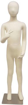 9 Years Old Poseable Child Mannequin with Flexible Arms MM-JFCH09T