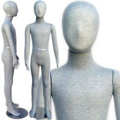 Flexible Kid Mannequin with Head 4' 7'' (7C-8C) MM-334