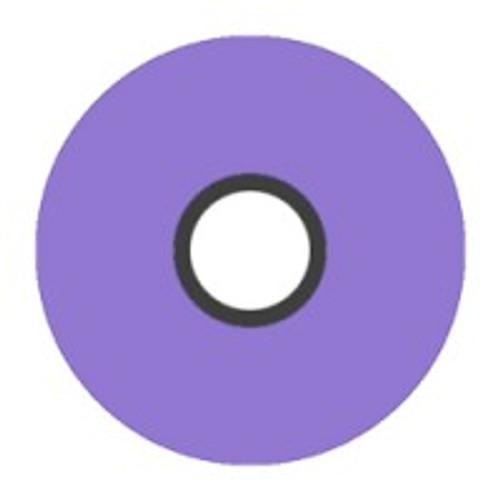 Magna-Glide 'L' Bobbins, Jar of 20, 42655 Lilac
