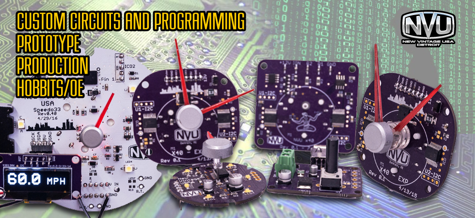 custom prototype diy circuit programming code