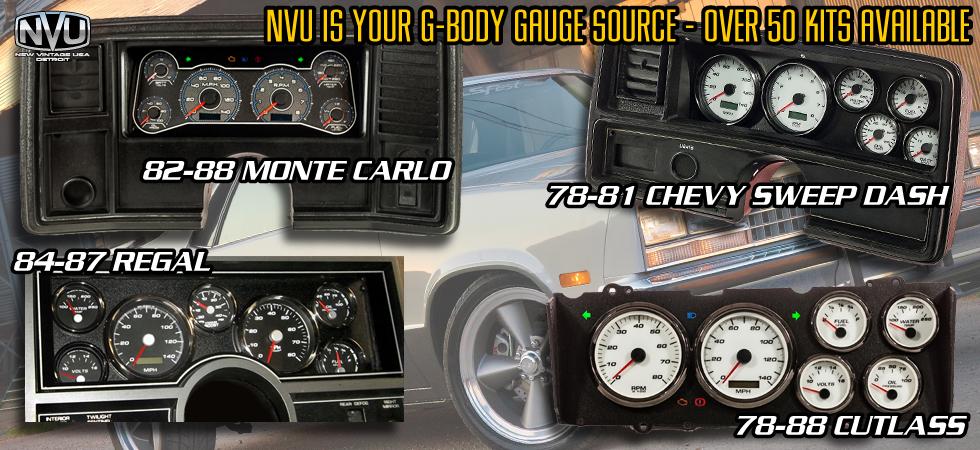 gbody gauges aftermarket