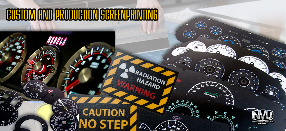 screenprinting custom prototype technical plastic