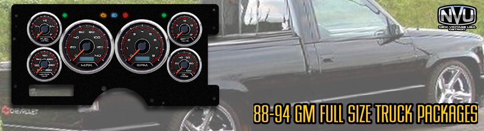 88-94 gmTRUCK GAUGES AFTERMARKET