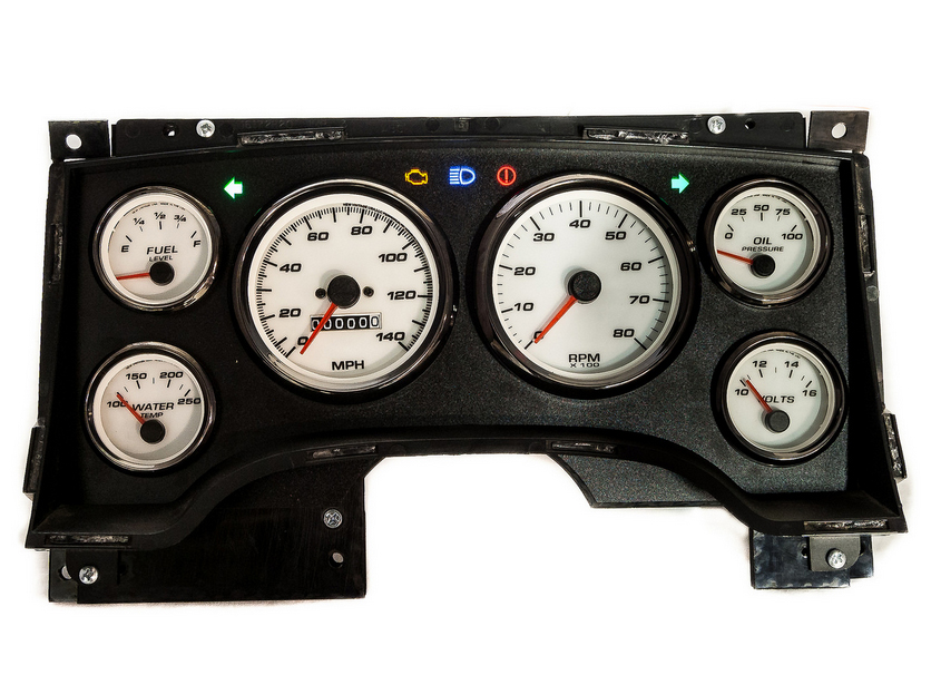 2004 2nd gen s10 gauges speedometer custom kit