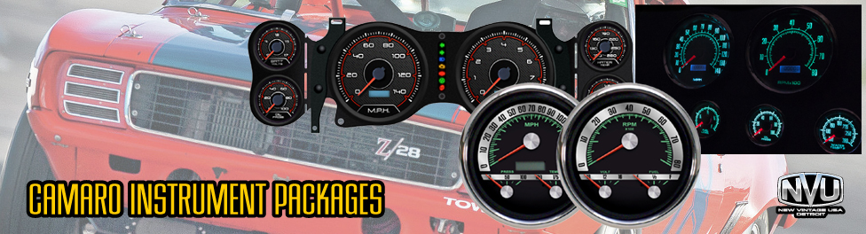 camaro custom gauges clusters