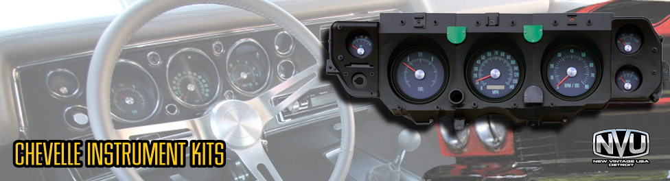 Chevelle SS GM SS dash custom gauges