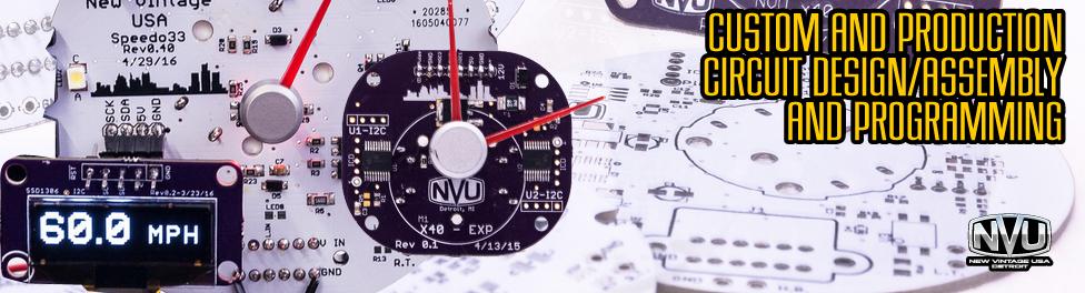 custom circuit board design prototype