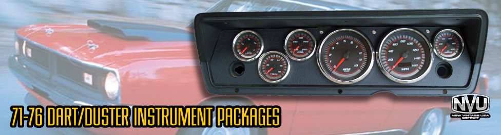 dart duster a-bodt custom dash gauges