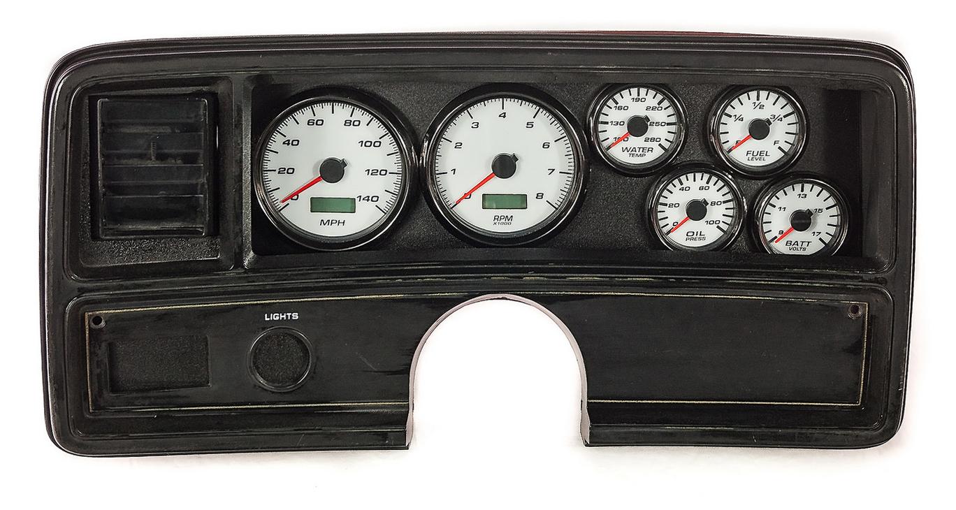 malibu gauges