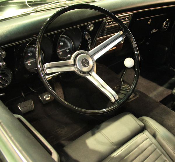 Tim Allen Camaro 68 Series gauges