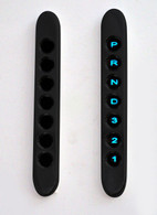 7-LAMP PANEL VERT PRND321 BLACK