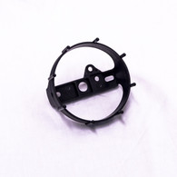 "Back Clamp 3-3/8"" tachometer, speedometer-studded"