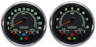 3-1 muscle car 69 series gauges 240 metric kph kmh speedometer