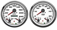 Performance sport comp gauges metric kph km/h