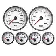 Performance pro sport comp speedhut metric kph km/h gauges speedo