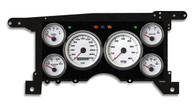 86-93  S-10/15 PERFORMANCE SPEEDO WHT 240 KPH
