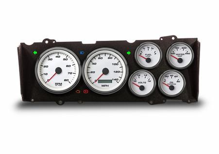 custom hurst olds cutlass gauges