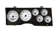 78-81 CHEVY G-BODY SWEEP KIT  PERFORMANCE PROG SPEEDO WHT