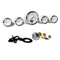 omega kustom instruments 5 gauge kit veethree cheap basic gauges custom