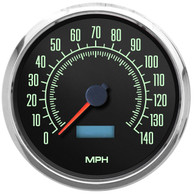 retro vintage muscle car speedometer American muscle