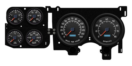 military aircraft gauges instruments squarebody truck gm 73-87