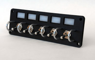 jeep custom off road 4x4 switch panel lighted led