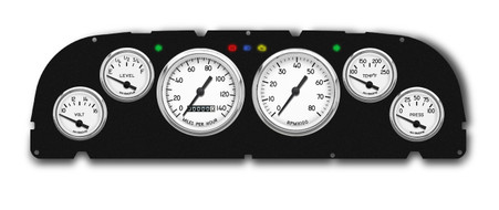 60-63 Chevy truck aftermarket custom gauges NVU