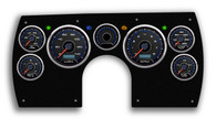 82-89 Camaro custom aftermarket dash gauge cluster LED Stepper