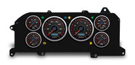 87 93 fox mustang custom aftermarket dash gauge instrument kit