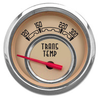 "WOODWARD TRANS TEMP 2-1/16"" W/SENDER BEIGE"