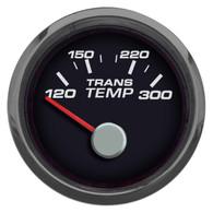 "PERFORMANCE  TRANS TEMP 2-1/16"" W/SENDER BLACK"