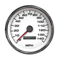 4-3/8 SPEEDO140 MPH PROGRAMMABLE-NO SENDER WHT