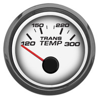 "PERFORMANCE  TRANS TEMP 2-1/16"" W/SENDER WHITE"