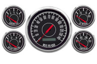 1967 5 GA  PROG SPEEDO BLACK 73-10 FORD/CHRY