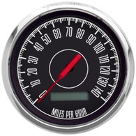 "1967 3-3/8"" PROGRAMMABLE SPEEDOMETER 140 MPH"