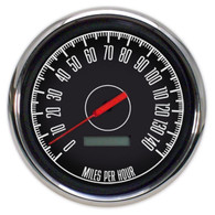 1967 4-3/8 SPEEDOMETER 140 MPH PROGRAMMABLE-NO SPEEDO SENDER
