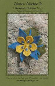 Colorado Columbine Pin - Pattern