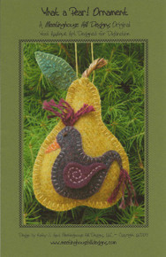 What a Pear! Ornament - Pattern