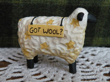 Resin Sheep - Got Wool?