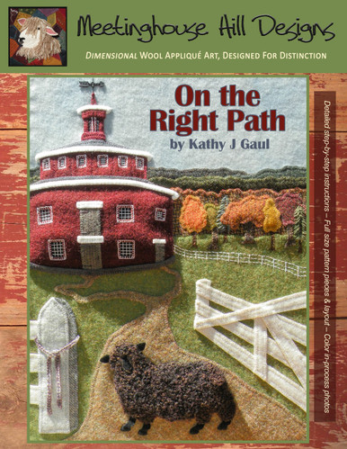Complete Kit for On the Right Path - pattern booklet image.