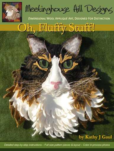 """Cover of """"Oh, Fluffy Stuff!"""" pattern."""