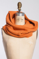 OPTICAL LOOP: Alpaca Neckwrap Orange