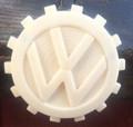 VW EMBLEM 3D PRINTED KDF STYLE