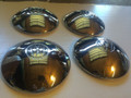 HUB CAP SET OF FOUR GERMAN SHOW QUALITY